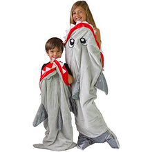 Peristalsis Shark Blanket - Grey