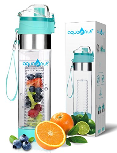 24oz Bottom Loading Fruit Infuser Water Bottle