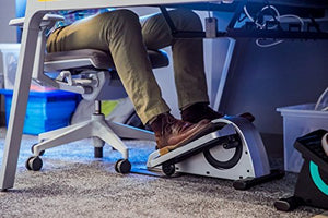 Cubii Pro Under Desk Elliptical, Bluetooth Enabled, Sync w/FitBit and HealthKit, Adjustable Resistance, Easy Assembly