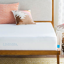 Linenspa Premium Smooth Fabric Mattress Protector - 100% Waterproof - Hypoallergenic