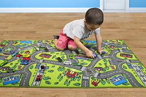 Kids Carpet Playmat Rug City Life Great For Playing With Cars and Toys