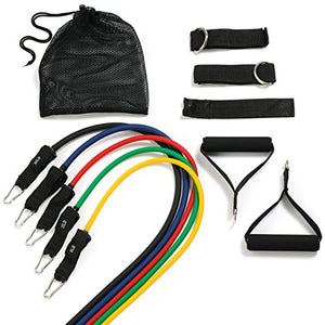11pc Resistance Band Set