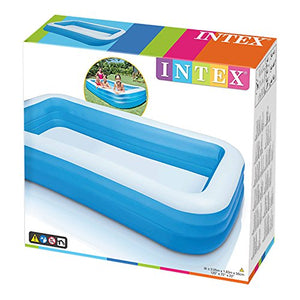 "Intex Swim Center Family Inflatable Pool, 120"" X 72"" X 22"", for Ages 6+"