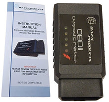 Bluetooth Diagnostic OBDII Reader / Scanner for Android Devices