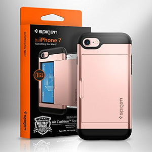 Slim Armor iPhone 7/8 Case with Slim Dual Layer Wallet Design and Card Slot Holder