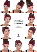 BLOM Original Multi-Style Headband. Perfect for Yoga or Fashion, Workout or Travel.