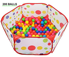 200 Phthalate Free BPA Free Crush Proof Plastic Ball, Pit Balls