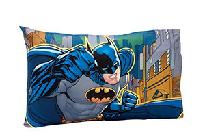 Batman  Super Hero 4 Piece Toddler Bedding Boys Comforter Set