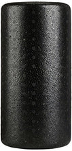 High-Density Round Foam Roller, Black and Speckled Colors