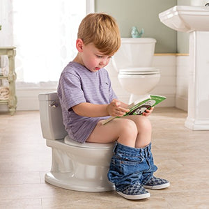 Training Toilet for Toddler Boys & Girls - with Flushing Sounds and Wipe Dispenser