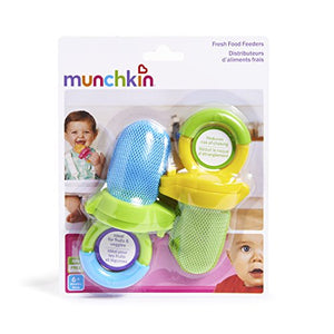 Fresh Food Feeder, 2 Pack, Blue/Green