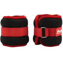 REEHUT Durable Ankle/Wrist Weights (1 Pair) with Adjustable Strap for Fitness, Exercise, Walking, Jogging, Gymnastics, Aerobics, Gym (2lbs 3lbs 4lbs 6lbs 8lbs 10lbs)