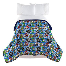 Nintendo Super Mario Trifecta Fun Twin Comforter