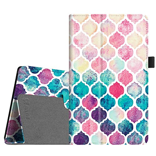 Fintie Folio Case for Amazon Fire HD 8 (Previous Generation - 6th) 2016 release