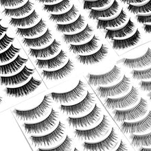 Eliace 50 Pairs - 5 Styles Handmade False Eyelashes Set