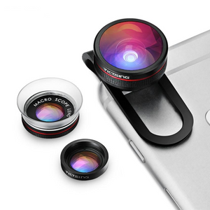 Clip-on 3 in 1 Camera Phone Lens Kit