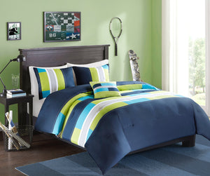 Comfort Spaces Pierre Comforter Set - 3 Piece