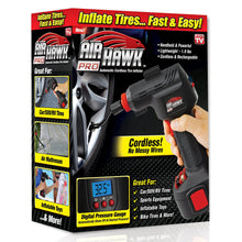 Air Hawk Pro Automatic Cordless Tire Inflator ,Air Compressor, Digital Pressure Gauge