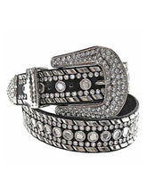Luxury Divas Rhinestone Studded Belt For Women