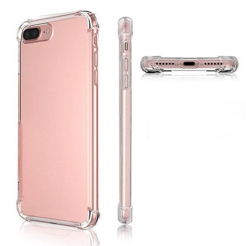 Slim Transparent Soft Gel Silicone Case  iPhone 8  & 8 Plus