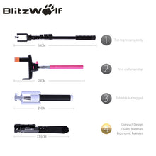 Bluetooth Wireless  Extendable Selfie Stick