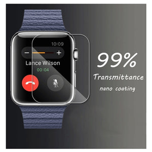 Tempered Glass Screen Protector For Apple Watch 3 2 1