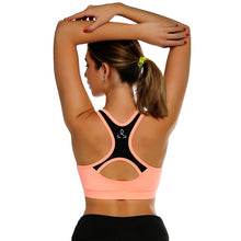 CROSS1946 Women Fitness Yoga Sports Bra For Running Gym Yoga Padded Push Up Breathable Top Seamless Tops Athletic Vest S M L XL