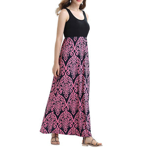 Long Maxi Bohemian Summer Dress