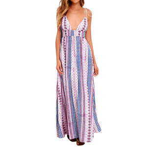 Floor Length Vintage Maxi Dress
