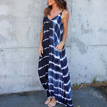 Striped Loose Flow Maxi Dress