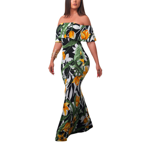 Bodycon Floral Beach Sundress