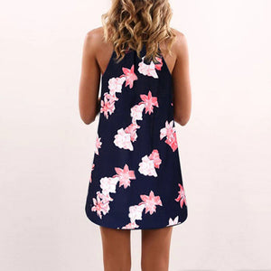 Casual Floral Print Sundress