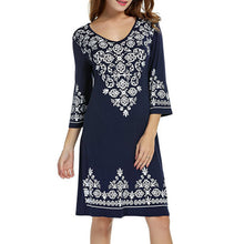 Flowy Moroccan Summer Dress