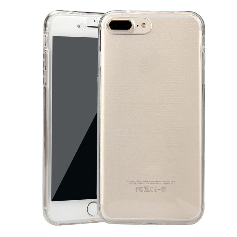 Ultra Slim Transparent Shockproof Silicone Protective Clear Case Cover For iPhone 7 Plus 5.5 inch