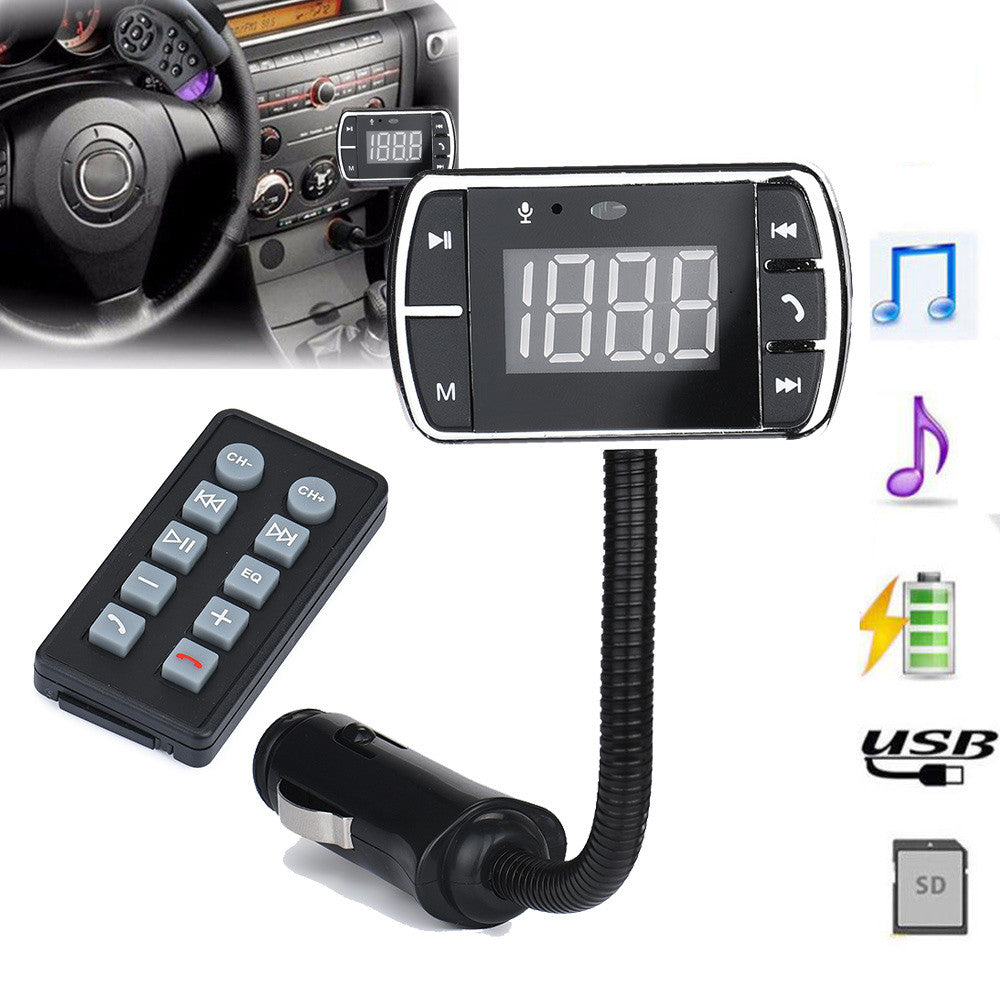 Handsfree Wireless Bluetooth FM Transmitter