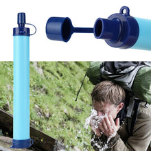 Camping/Hiking Emergency  Survival Portable Water Filter Straw