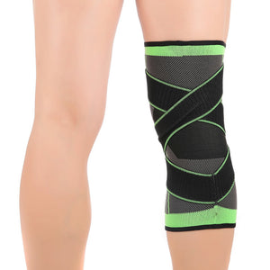 Pressurized Fitness/Sports Elastic Knee Support Braces (1pcs)