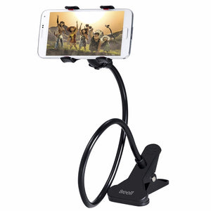 360 Degree Rotation Double Clip Phone Holder
