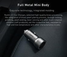 Metal Body Universal Dual USB Car Charger