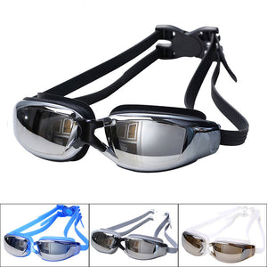 Professional Adult Anti-Fog UV Protection Swimming Goggles