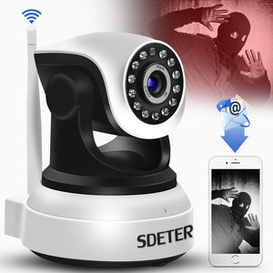 SDETER Wireless Security IP Camera WIFI Home Surveillance Camera