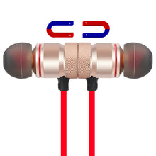 Magnetic Sports  Bluetooth  Wireless Earphones