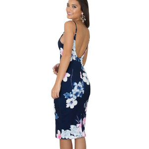 Backless Tunic Summer Dress