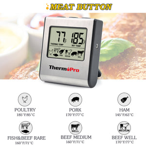 LCD Digital Cooking Kitchen Food/Meat Thermometer