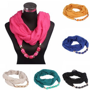 Women's Double Loop Scarf/Head Wrap