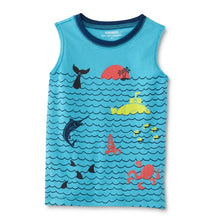 WonderKids Toddler & Infant Boys' Graphic Tank Top - Ocean