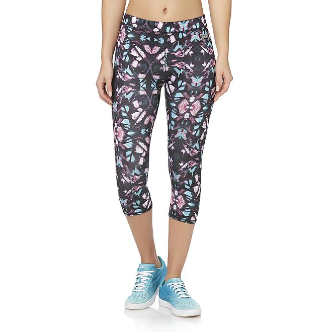 Everlast® Sport Women's Cropped Athletic Leggings - Abstract