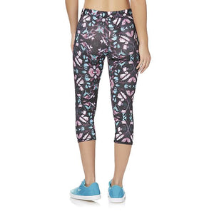 Everlast® Sport Women's Cropped Athletic Leggings - Abstract - Free + Shipping