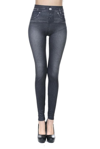 Slim Denim Style Jeggings