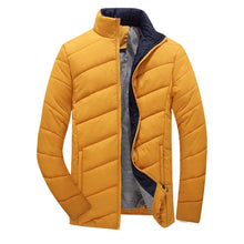 Solid Color Thick Color Winter Coat